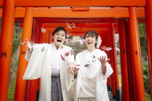 長崎の花嫁結婚式前撮り