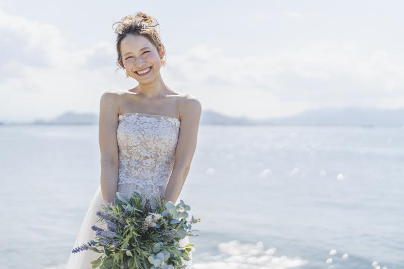 長崎結婚式の花嫁